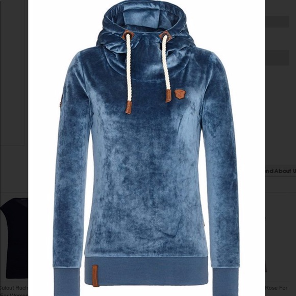 NWT women's super soft naketano hoodie NWT